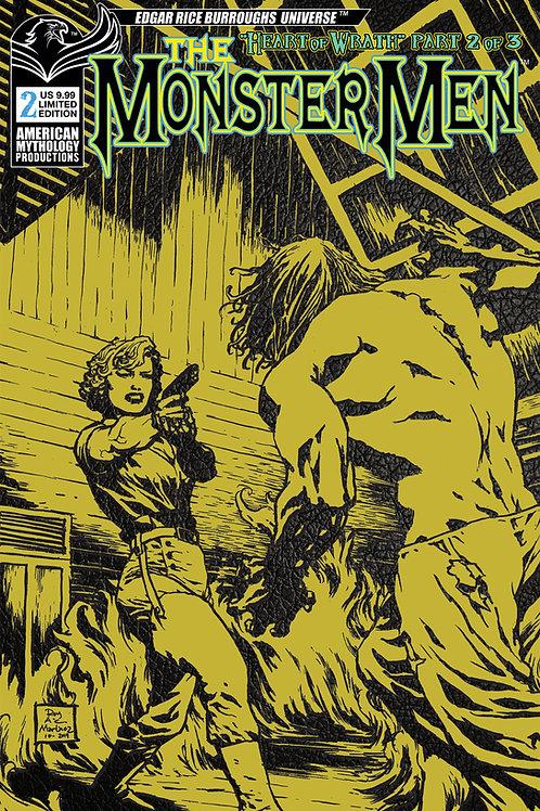 Monster Men: Heart of Wrath #2 Ltd Ed 1/350 Pulp Variant Cvr