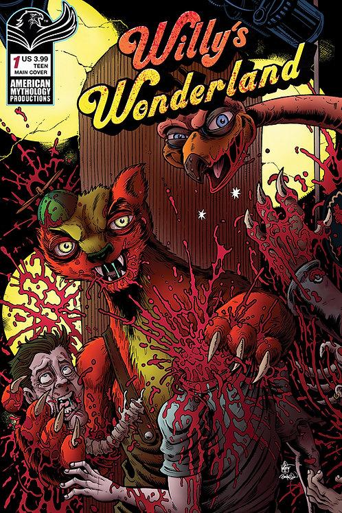 Willy's Wonderland Prequel #1 Main Connecting Cvr