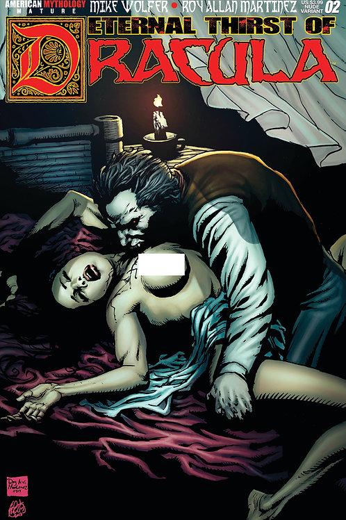 Eternal Thirst of Dracula #2 Nude Cvr