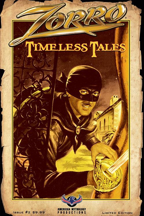 Zorro Timeless Tales #2 1/350 Pulp Cvr