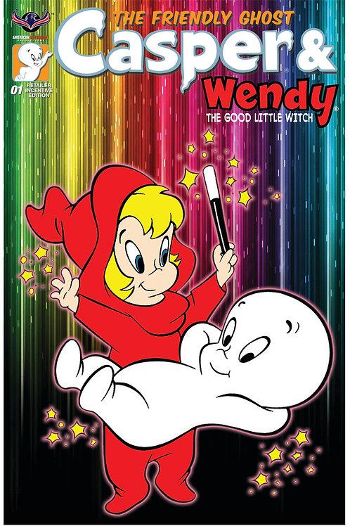 Casper And Wendy #1 Retailer Incv Rero Animation Cvr