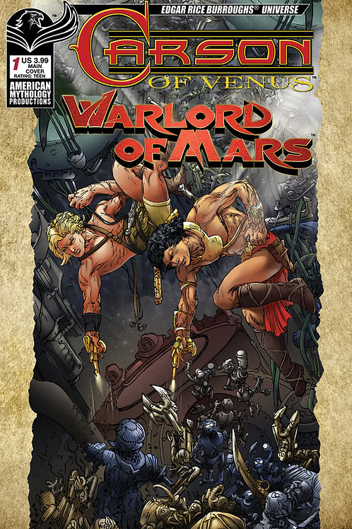 Carson of Venus / Warlord of Mars #1 Digital Edition