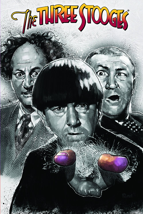 The Three Stooges Vol 1 Trade Paperback Graphic Novel
