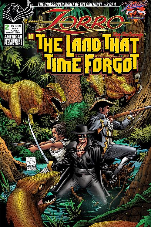 Zorro In The Land That Time Forgot #2 Main Cvr