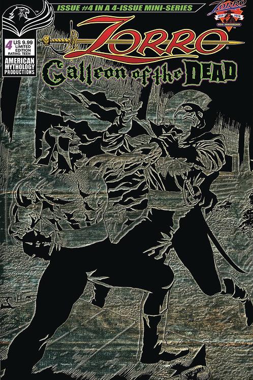 Zorro Galleon of the Dead #4 Ltd Ed 1/350 Var Cvr