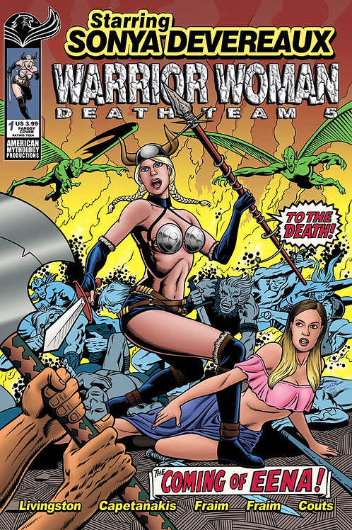 Starring Sonya Devereaux Warrior Woman Death Team 5 Parody Var Cvr