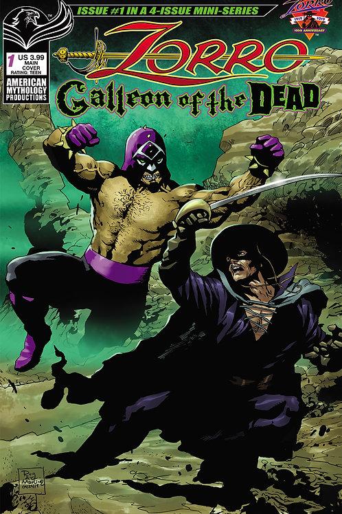Zorro Galleon of the Dead #1 Digital PDF Edition