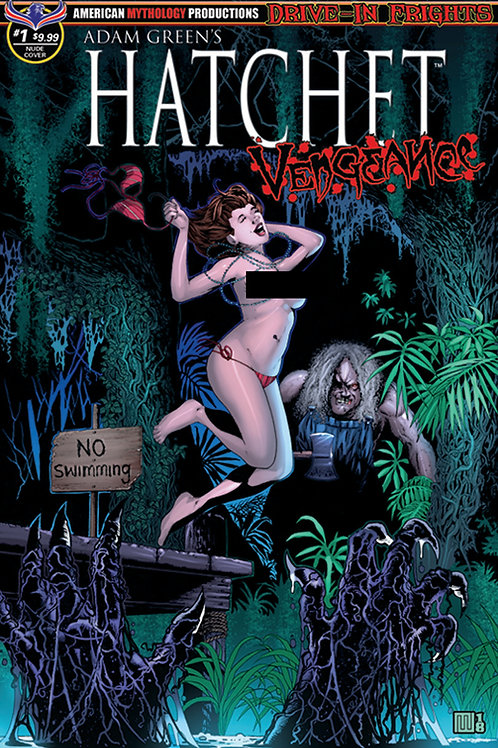 Adam Green's Hatchet Vengeance #1 Wolfer Bikini Optional Cvr