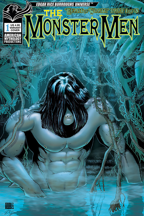 Monster Men: Heart of Wrath #1 Wolfer Variant Cvr