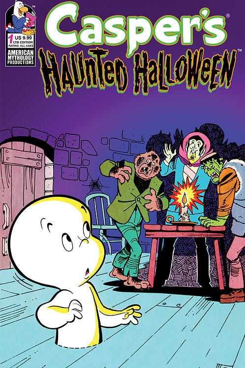Casper's Haunted Halloween #1 Ltd Ed 1/350 Retro Animation Cvr