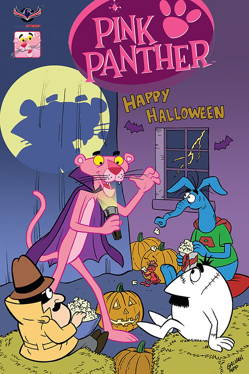 Pink Panther Trick or Pink #1 Galvan Cover (Pre  Order)