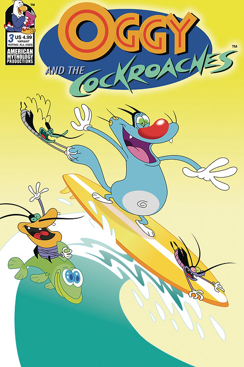 Oggy & the Cockroaches #3 Variant Cvr