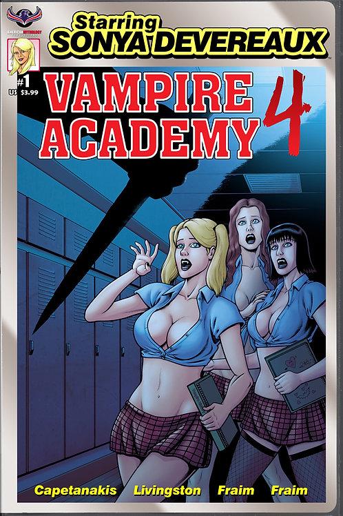 Starring Sonya Devereaux Vamp Academy 4 Main Cvr (MR) (Pre Orde