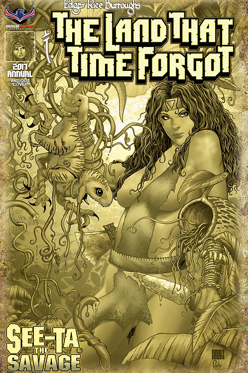 The Land That Time Forgot Annual See-Ta the Savage Retailer Incv Cvr