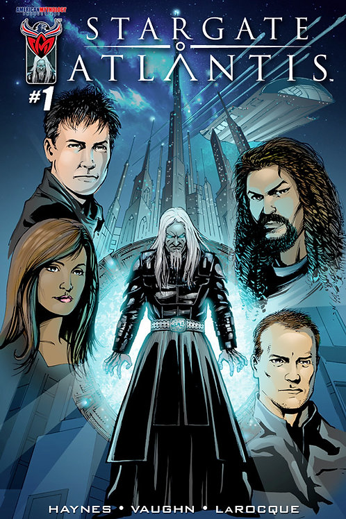 Stargate Atlantis #1 Main Cover