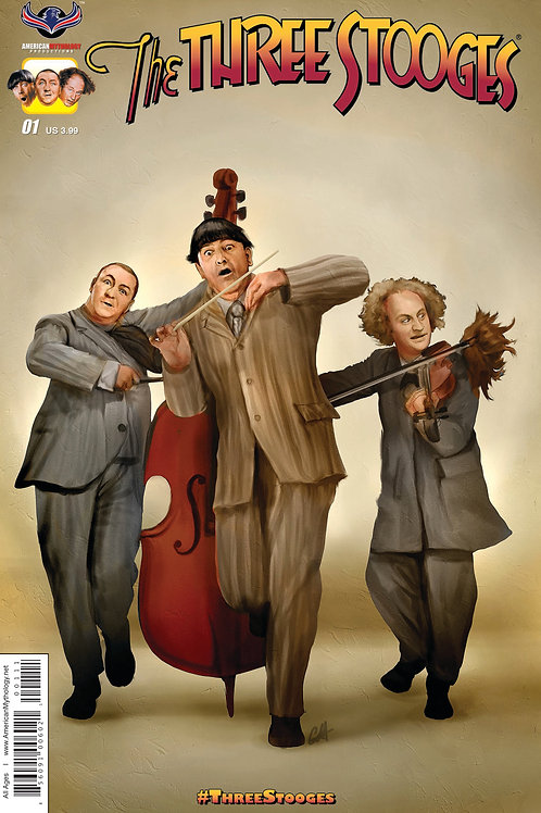 Three Stooges #1 Exclusive Fan Package