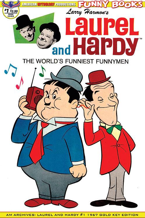 AM Archives Laurel & Hardy #1 1967 Main Cvr