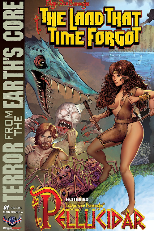 The Land That Time Forgot / Pellucidar #1 Cvr A Connecting