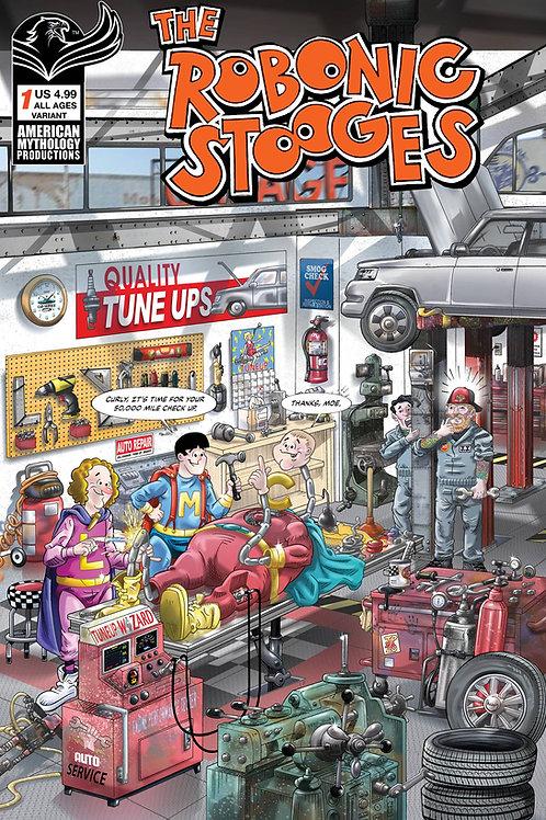 The Robonic Stooges #1 Pacheco Var Cvr