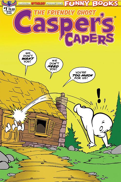 Casper's Capers #1 Vintage Kremer Ltd Ed 1/450 Cvr