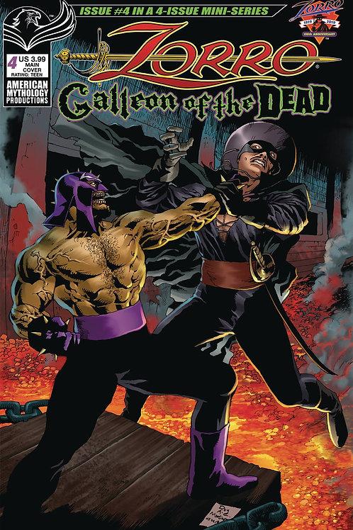 Zorro Galleon of the Dead #4 Digital PDF Edition