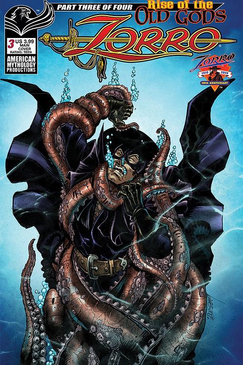 Zorro Rise of the Old Gods #3 Digital PDF Edition