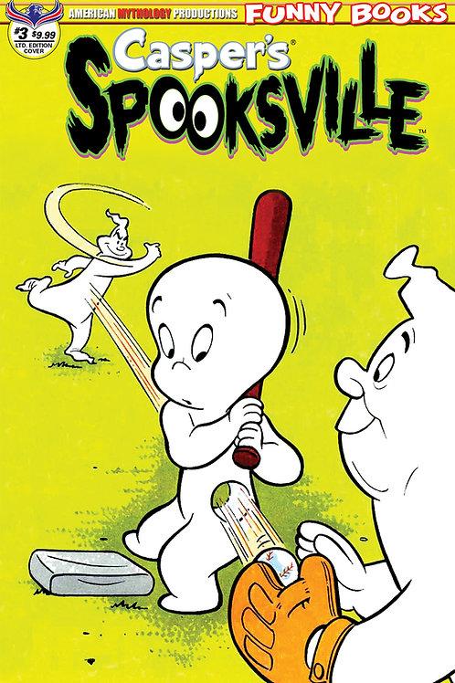 Casper's Spooksville #3 1/350 Ltd Ed Retro Animation Cvr
