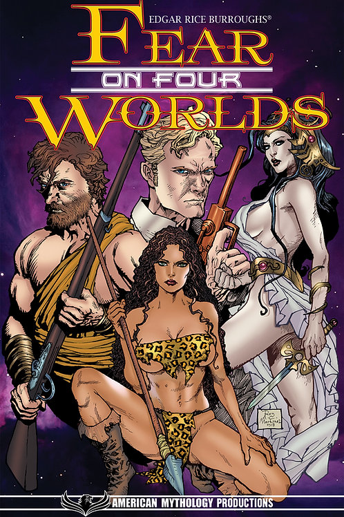 Edgar Rice Burroughs' Fear on Four Worlds Trade Paperback