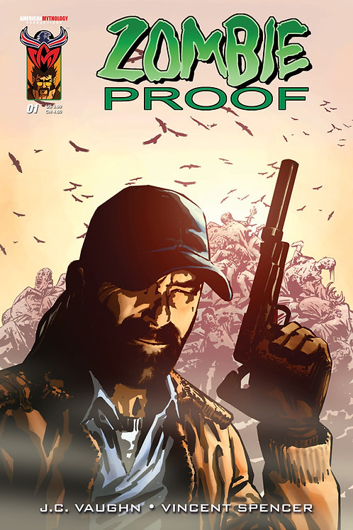 Virtual FCBD Signed Vaughn - Zombie Proof #1