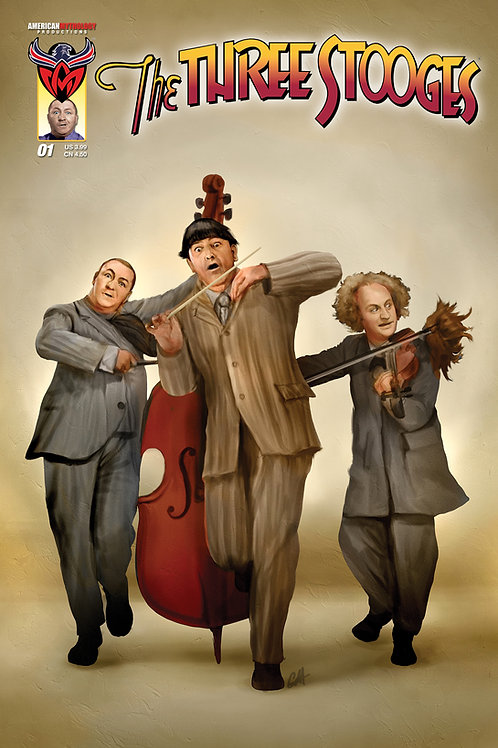 The Three Stooges #1 Main Cover (Available Now)
