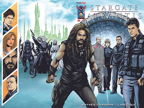 Stargate Atlantis #2 Wrap Cover