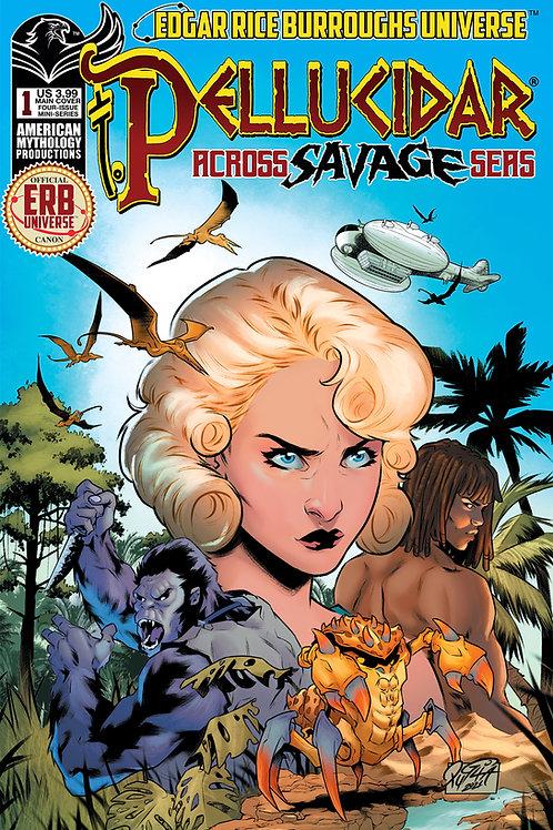 Pellucidar Across Savage Seas #1 Main Cvr