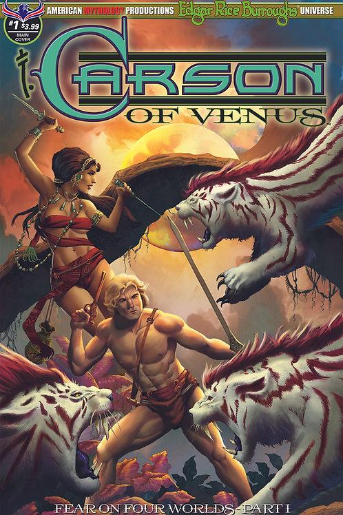 Virtual FCBD Signed Wolfer - Carson of Venus #1