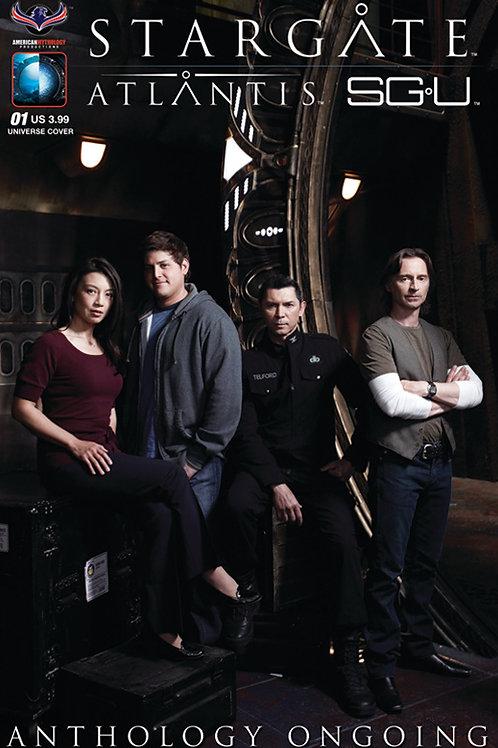 Stargate Atlantis / Stargate Universe Anthology Ongoing #1 SGU Photo Cov