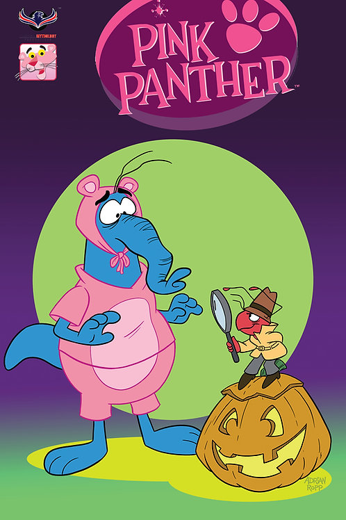 Pink Panther Trick or Pink #1 Pink Pals Cover