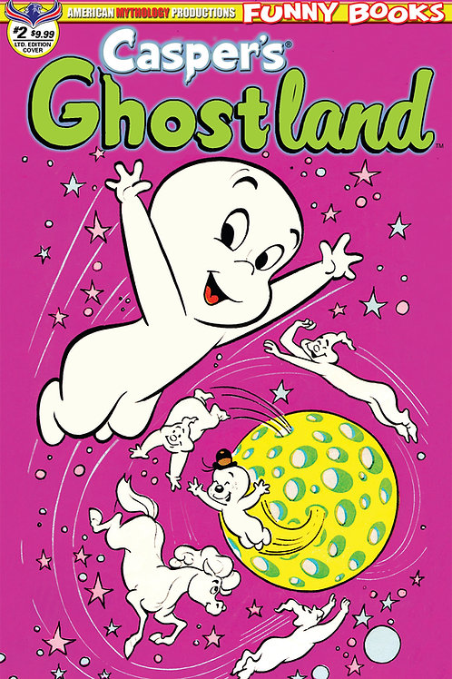 Casper's Ghostland #2 1/350 Ltd Ed Retro Anmiation Cvr