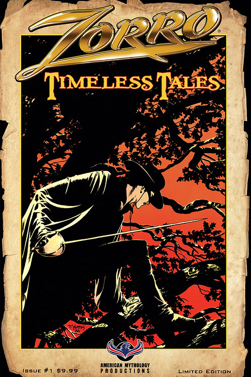 Zorro Timeless Tales #1 1/350 Ltd Ed Cvr