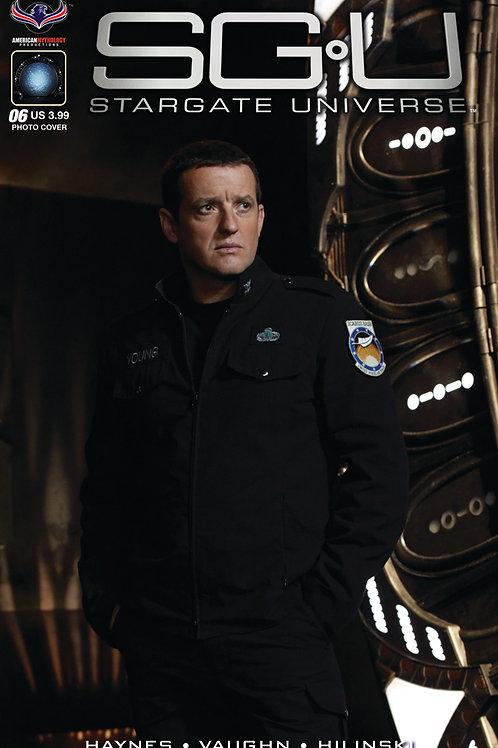 Stargate Universe Back to Destiny #6 Photo Cover