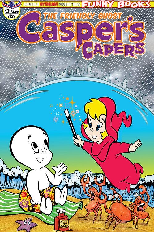 Casper's Capers #3 Main Dela Scherer Cvr