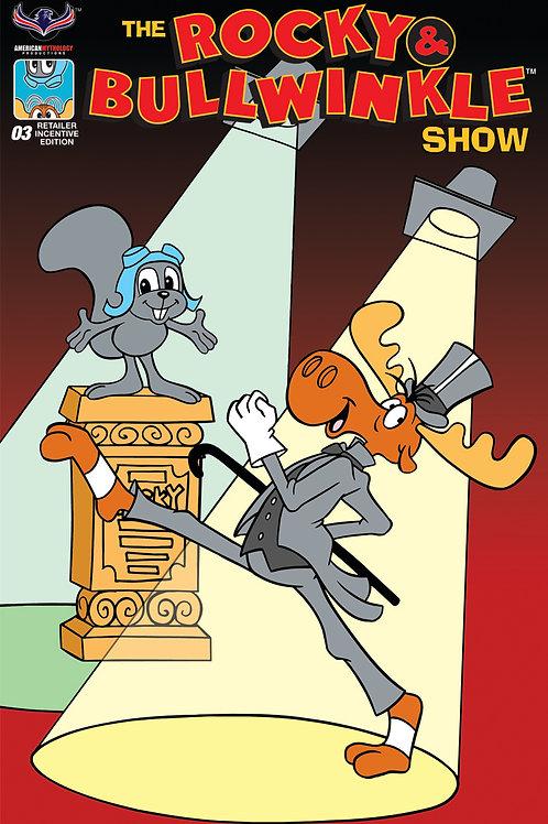 Rocky & Bullwinkle Show #3 Retro Animation Retailer Incentive Cvr