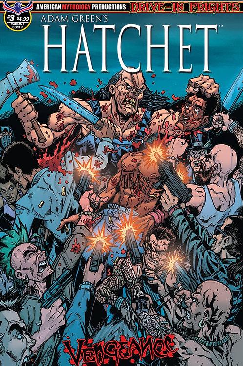 Hatchet Vengeance #3 Slaughter Calzada Cvr