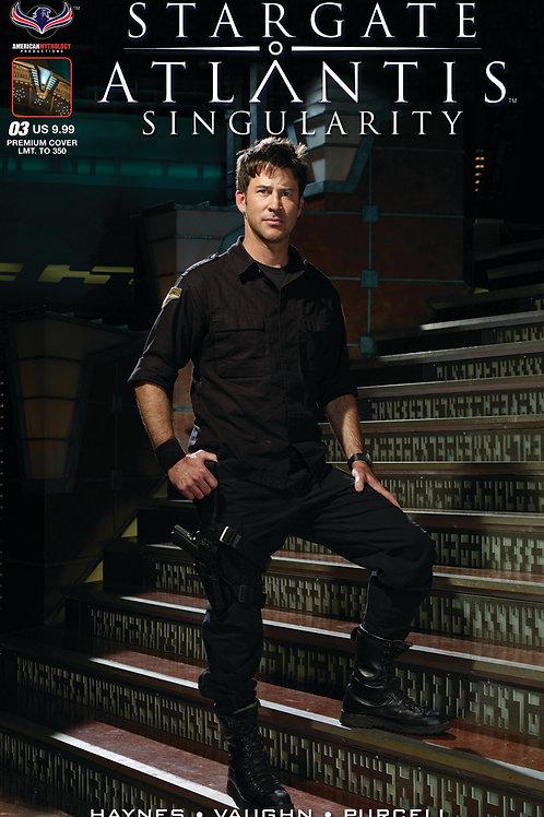 Stargate Atlantis Singularity #3 Ltd Ed 1/350 Photo Cover