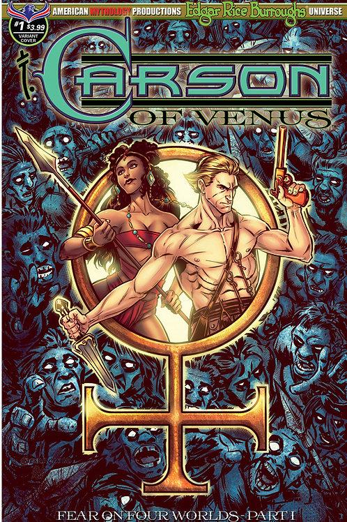 Carson of Venus #1 Fear on Four Worlds Pt1 Visions Mesarcia Cvr