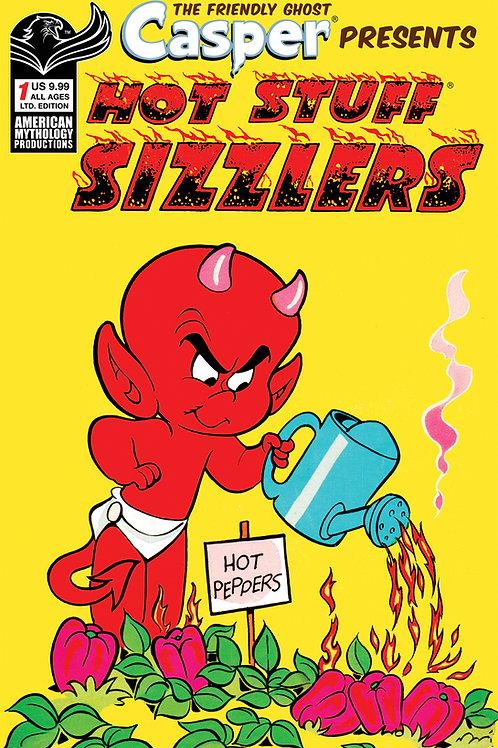 Casper Presents: Hot Stuff Sizzlers #1 1/350 Ltd Ed Retro Cvr