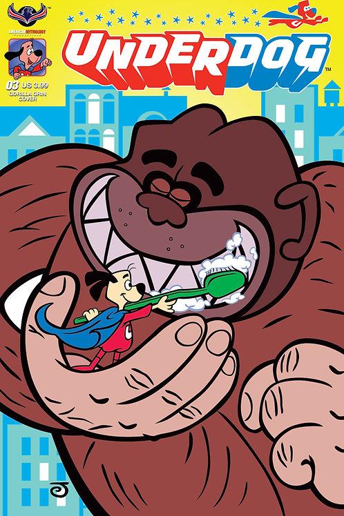 Underdog #3 Scherer Gorilla Grin Cvr