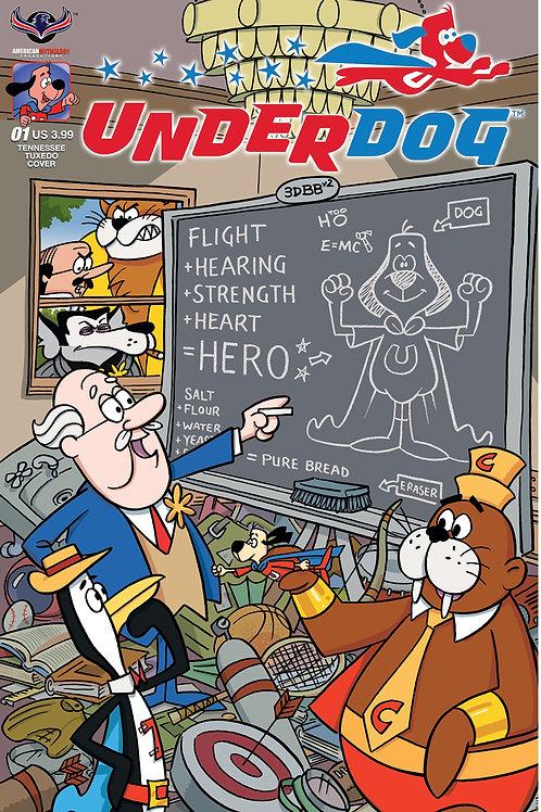 Underdog #1 Tennessee Tuxedo Gallant Cover