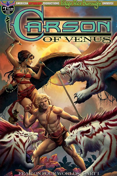 Carson of Venus #1 Fear on Four Worlds Pt1 Main Wolfer Cvr