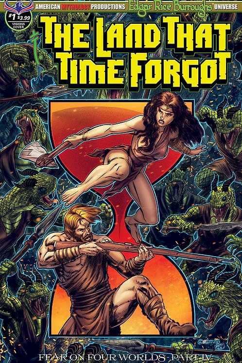 Land That Time Forgot #1 Fear on Four Worlds Pt4 Timeless Cvr