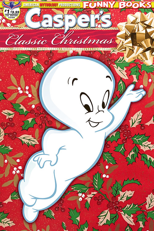 Casper's Classic Christmas #1 Ltd Ed 1/350 Cvr