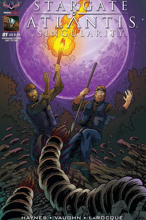 Stargate Atlantis Singularity #1 Hilinski Ltd Ed Cover